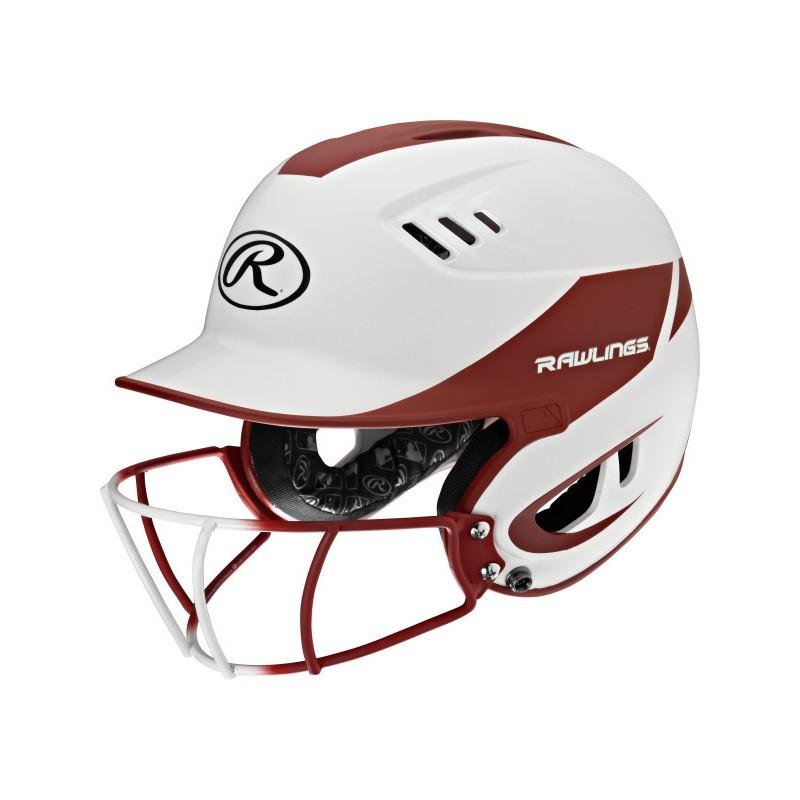Rawlings R16H2FGS VELO met softbalmasker-Cardinal