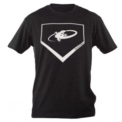 T-Shirt Lizard Home Plate, Next Level