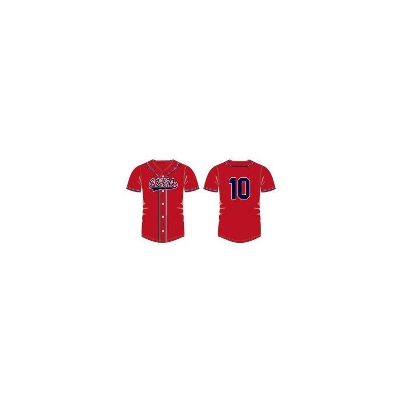 Team tenue O.V.V.O. Baseball Jerseys adult