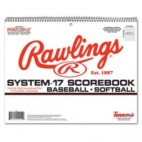 Rawlings System-17 Baseball Scorebook (17SB)