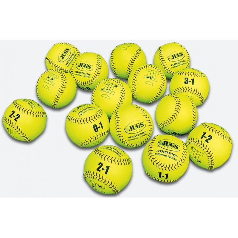 Jugs Perfect Pitch Softball (15PK) - 1